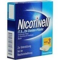 Nicotinell 17,5mg/24 Stunden 7 stk