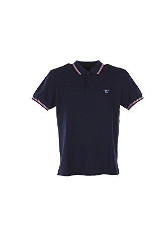 Polo Uomo Henry Cotton's M Blu 83295-50-84283 Primavera Estate 2016
