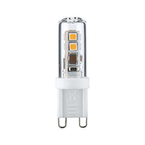 2.2 W Led (Paulmann 283.38 LED Stiftsockel 2,2W G9 230V Warmweiß 28338 Leuchtmittel Lampe)