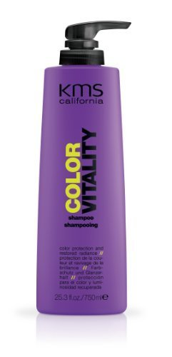 KMS California Color Vitality - Blonde Shampoo - 25.3 oz by KMS California [Beauty] (English Manual)