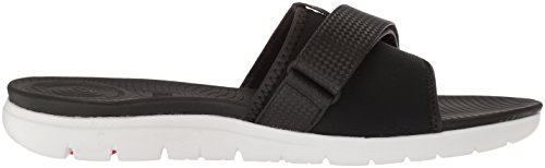 FitFlop Damen Neoflex Slide Sandals Peeptoe Black (Black Mix 231)