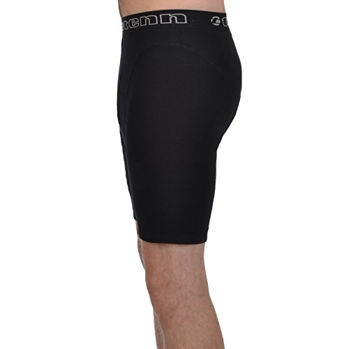Tenn Boxer Pantaloncini ciclismo Nero (Schwarz)