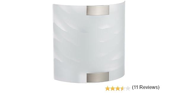 Trio 2522011-06 Lampada da Parete vetro incandescente cromo