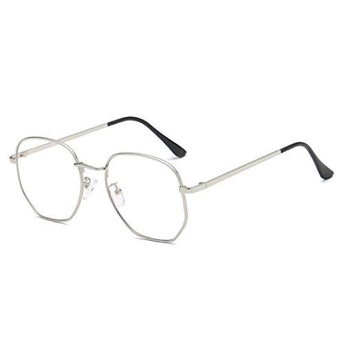 IOSHAPO Fashion Unisex Vintage Full Metal Square Frame Optische Gläser