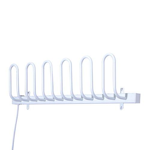 Homcom Elektrischer Schuhtrockner Schuhheizung Schuhwärmer Stiefeltrockner Handschuhtrockner Heizung Trockner (Modell 3)