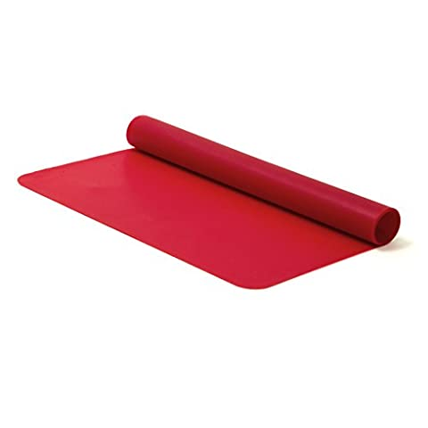 Tapis Patisserie - Cuisy KB50351 Plaque Cuisson Silicone Noir/Rouge/Vert 35