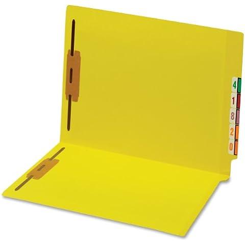 File Folders w/Fastners, 11pt, 3/4