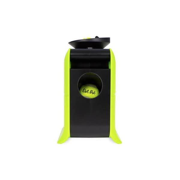 Electriq Automatic Dog Ball Launcher with Treat Dispenser 4