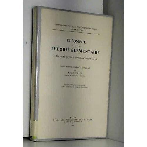 Théorie élémentaire (Histoire des doctrines de l'Antiquité classique)