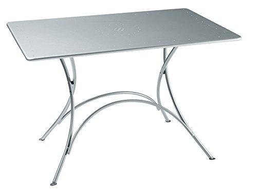 Emu Table Pigalle 120 x 76 cm-Aluminium