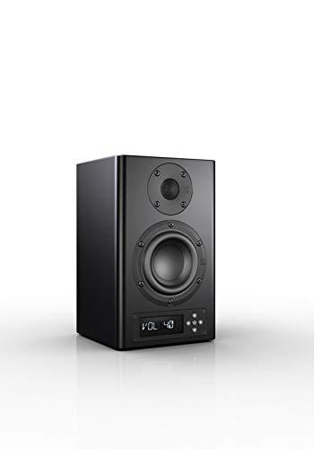 Nubert nuPro A-100 aktive Studio-Monitor/PC-Lautsprecher 2-Wege (2x60 / 2x80 Watt, Fernbedienung) schwarz, Stück
