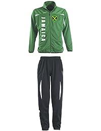 Jamaika Trainingsanzug - Sportanzug - S-XXL - Fußball Fitness f8c7b954f70