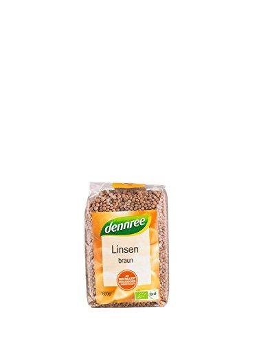 dennree Bio Linsen braun (1 x 500 gr)
