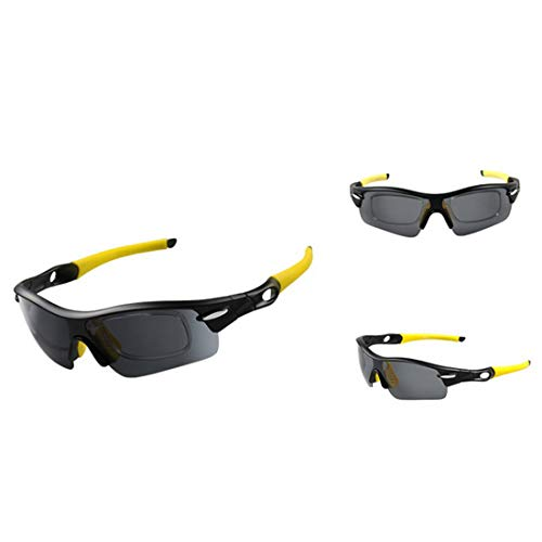 ZhangC Gafas de sol, gafas de sol de moda de la personalidad del paseo a prueba de viento al aire libre...