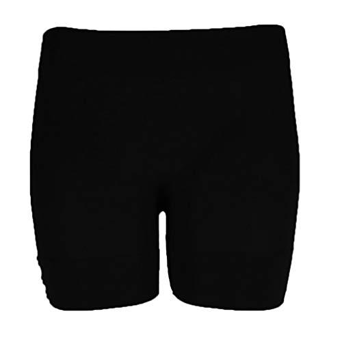 Sport Shorts Jeans Bermuda Damen Wide Leg Trousers Caprihose Mädchen High Waist Hosen Für Damen Boyfriend Jeans Kurze Hose Mädchen Baggy Sweatpants - Schwarz,XX-Large