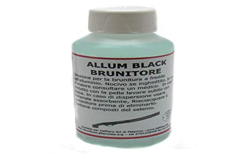 Delfiero Brunitore Liquido Alluminio 125 ml