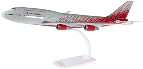 Herpa Rossiya Airlines Boeing 747-400 - Maquette à Échelle, 611244 | Les Clients D'abord