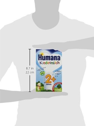Humana Kindermilch (ab 2 Jahren), 2er Pack (2 x 550 g)