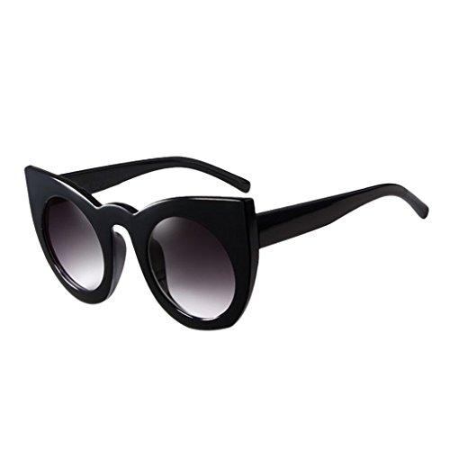 Nowear Unisex Retro runde freie Objektiv-Glas-Brillen Frauen Männer UV400 Schutz Plain Brillen Brillen