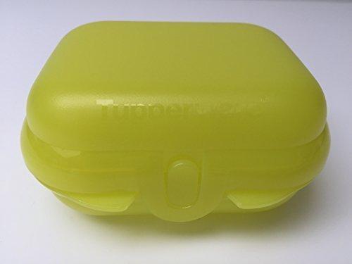 Tupperware Twin Mini Twin Brotdose gelb Twindose super für kleine Kinder oder Babys Kinderkrippe
