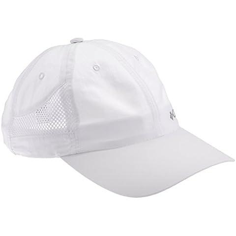 Columbia Tech Shade Hat Cappello, Uomo, Bianco (101), O/S
