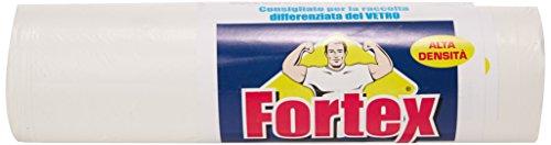 Fortex - Sacco Raccolta Differenziata, 120 Litri, 70x110 cm - 4 confezioni da 10 sacchi [40 sacchi]