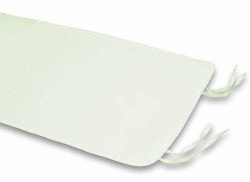 Italbaby 020.7100 coprirete in feltro per lettino, universale, bianco