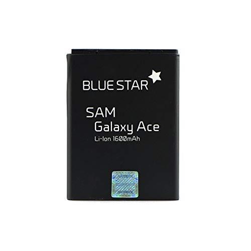 Blue Star Premium - Batteria per Samsung Galaxy Ace (S5830) / Galaxy Gio (S5670) 1660 mAh Lithium-Ion (Li-Ion)