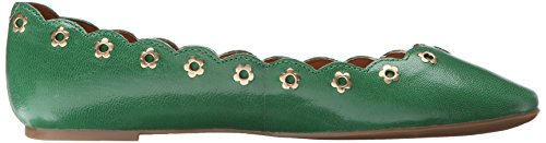 Nine West mintchip Leather Ballet Flat green