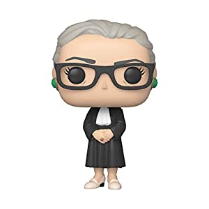 Funko- Pop Icons: Ruth Bader Ginsburg Collectible Toy, Multicolor (44336)