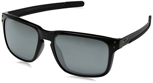 Oakley Herren Holbrook Mix 938406 Sonnenbrille, Gold (Polished Black), 57