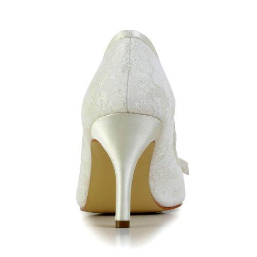 Jia Jia Wedding A31B21 chaussures de mariée mariage Escarpins pour femme Beige