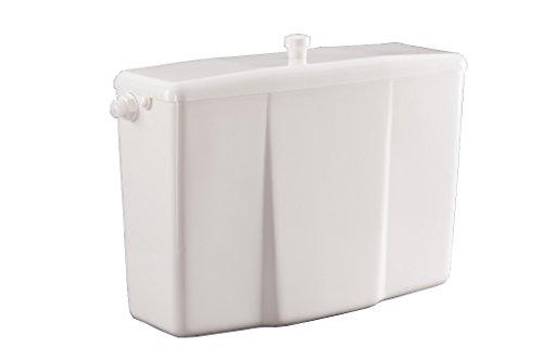 Weiße Kunststoff-Low-Level-WC Bad Spülkasten Tankhebel bündig