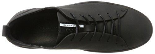 Ecco Herren Soft 8 Sneaker Schwarz (Black)
