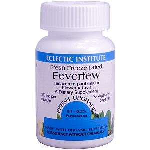 Eclectic Institute Inc Feverfew 350 Mg, 90 Caps, 350 Mg from Eclectic Institute