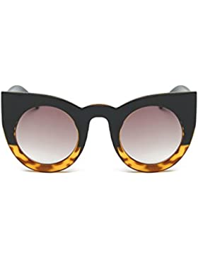 attachmenttou Prueba gafas de sol de los ojos Sombras Gafas Decoración sol de las mujeres gato de la manera multicolor