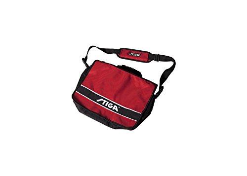 Idea regalo: Stiga Borsa a tracolla, coachbag Style, Rosso/Nero Per
