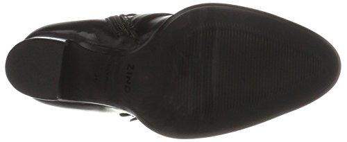 Zinda 3034, Bottines Femme Schwarz (Negro)
