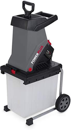 POWER plus Häcksler Kompostierer Gartenhäcksler Schredder Elektro 2500W Häcksler