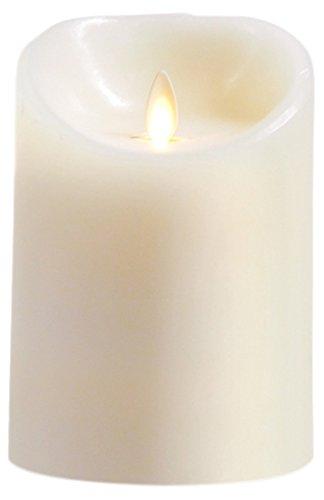 Luminara SD101311 - Vela LED, cera, color blanco marfil