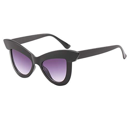 Honestyi Frauen Vintage Cat Eye Sonnenbrillen Retro Eyewear Fashion Damen Brillen 5190 big box sonnenbrillen straße schießen wilde