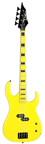 dean-czone-bass-yel-custom-zone-electric-bass-guitar-florescent-yellow