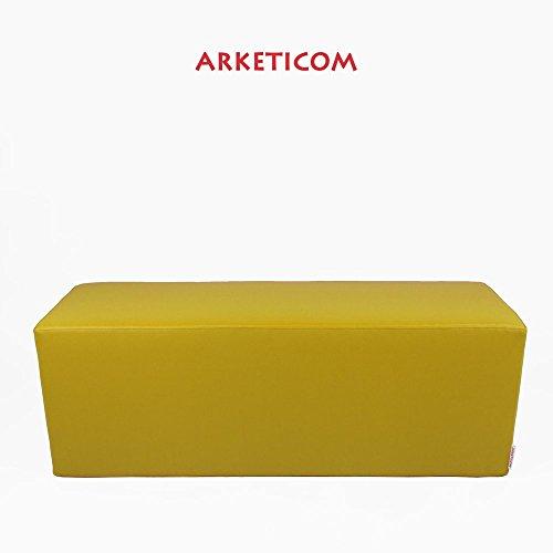 Arketicom Horizon Pouf Panca Poggiapiedi in Ecopelle
