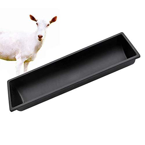 Alaof Futtertrog FüR Schafe TräNkebecken Wasser Zum Tier Kuh Kalb Haustier HäHnchen Ente Esel,195 * 30cm