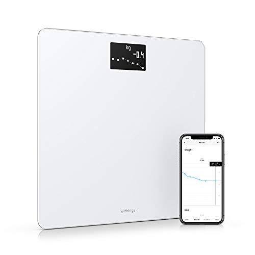 Nokia Body - Báscula WiFi medidora de IMC, blanco