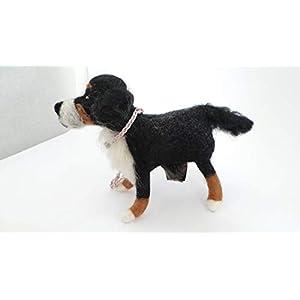 Kotbeutelspender aus Filz – Berner Sennenhund