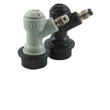 Ball Lock Cornelius Keg Home Brew Keg Tap - 1/4in. MFL by Home Brew Stuff (Ball Keg Tap)