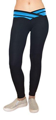 sodacoda-fitness-jambieres-de-yoga-pour-femmes-ceinture-en-forme-de-v-attractive-noir-et-bleu-clair-