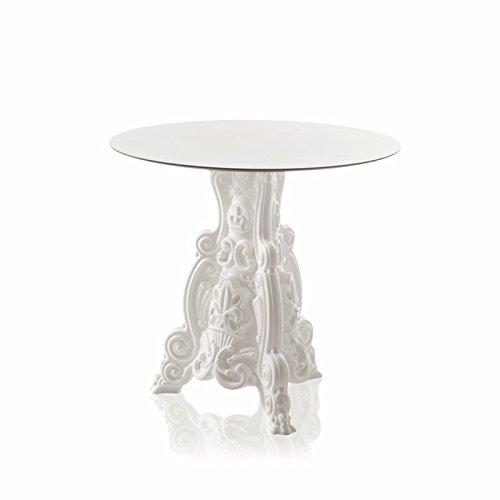 Design of Love - Slide Design - Lord of Love Table Ronde Blanc Lait