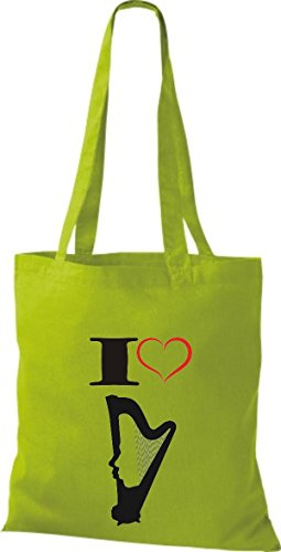 Shirtstown, Borsa tote donna Verde (kiwi)